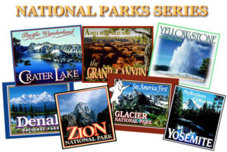 National Parks Trains Series